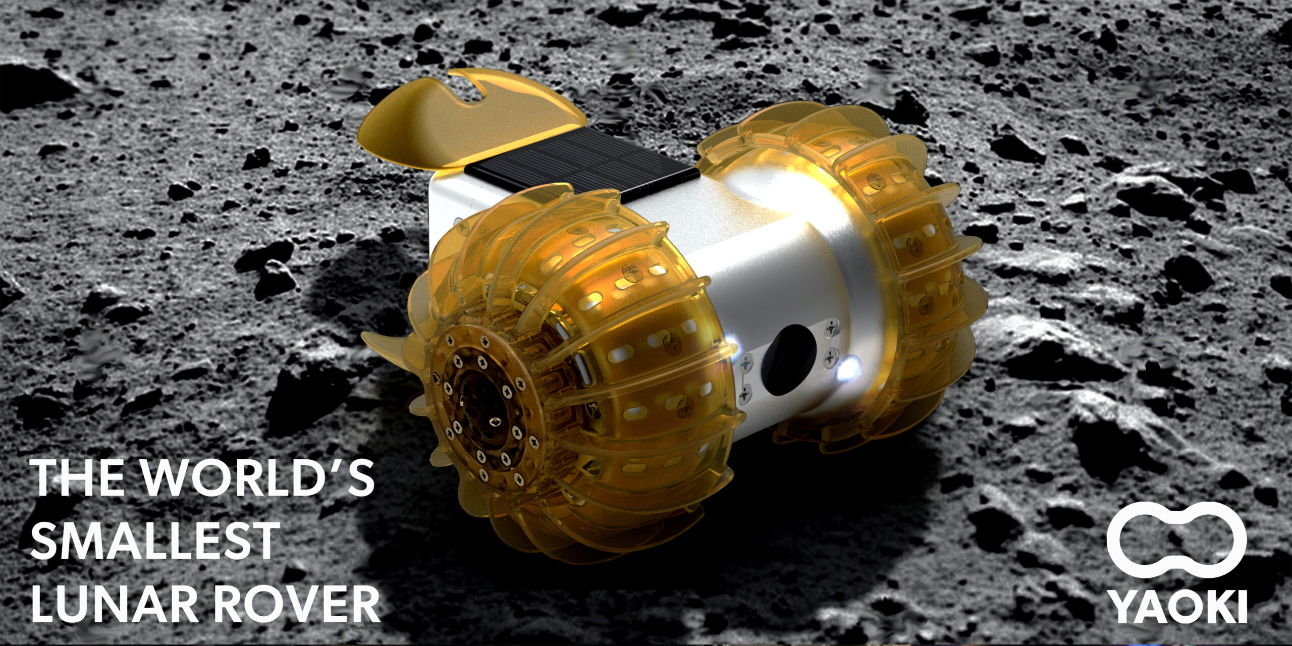 YAOKI THE WORLD'S SMALLEST LUNAR ROVER